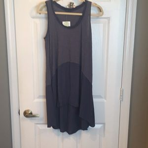 Anthropologie left of center tunic S NWT